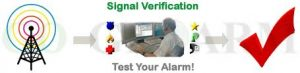 alarm test