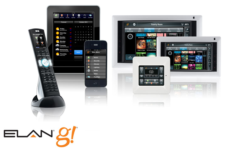 Elan g home automation